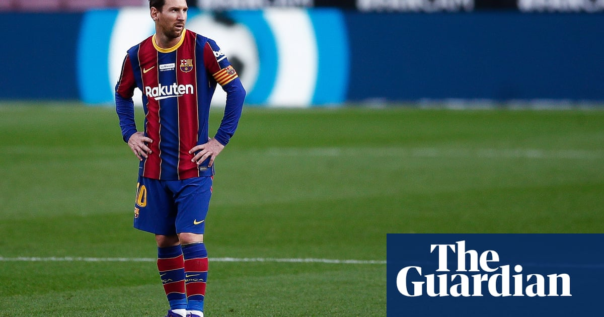 Lionel Messi calls Barcelona 'my life' but still seems to be more out than in