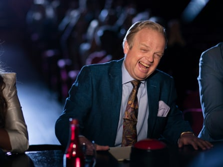 A picture of yellow-toothed mendacity … Toby Jones as Culverton Smith.