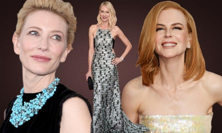 Australian actors Cate Blanchett, Naomi Watts and Nicole Kidman first demonstrated their talent in Australian film and tv productions. (composite image)