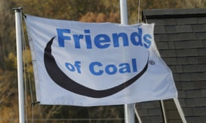 Friends of coal flag in the US