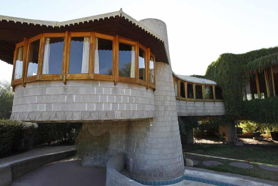 A 2012 picture of the David and Gladys Wright House in Phoenix. Frank Lloyd Wright died in 1959.