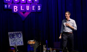 Democratic challenger Beto O'Rourke campaigns in the most expensive Senate race in history.