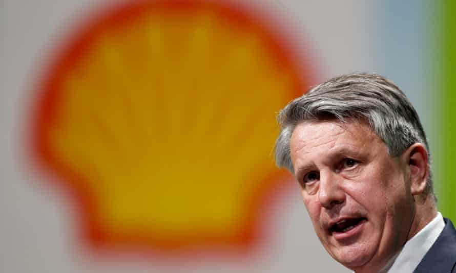 Ben van Beurden, CEO of Royal Dutch Shell, said he was 'disappointed that Shell is being singled out' over emissions.