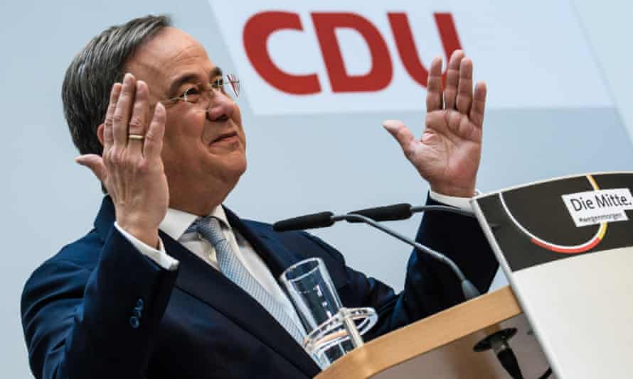 Armin Laschet, leader of Germany's CDU party
