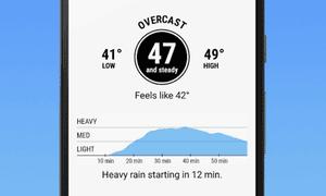 Dark Sky: Hyperlocal Weather.