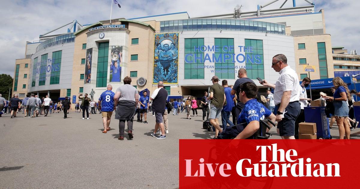 Chelsea v Aston Villa: Premier League – live!