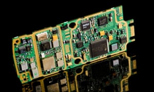 circuit board from mobile phone