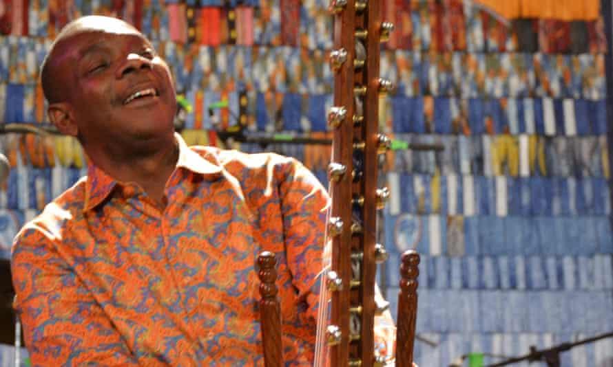 Festival director and kora player extraordinaire … Toumani Diabeté.