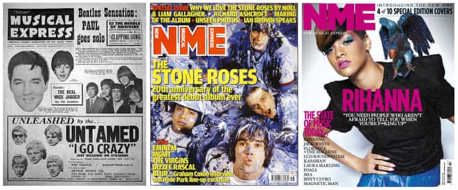 NME covers from the 60s to the 00s.