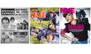 NME covers featuring Elvis Presley, the Beatles and the Rolling Stones from the 60s, the Stone Roses from the 80s and Rihanna from the 00s