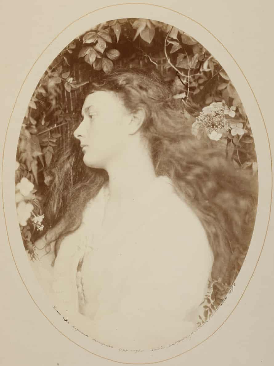 Alice Liddell as Alethea by Julia Margaret Cameron, 1872.