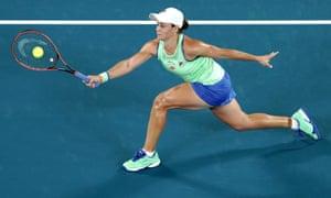 Australian Open 2020 Day One Barty V Tsurenko Djokovic In