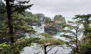 Cape Flattery in Washington State.