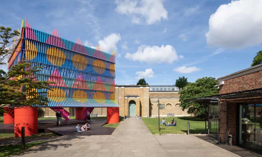 Simple on paper … the Colour Palace in the gallery grounds.