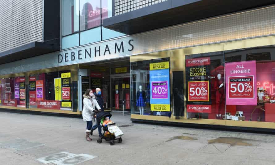 Debenhams' London Oxford Street store