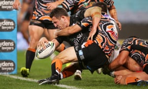 Much Improved Souths Tame Tigers As Sharks Recover To Beat Dragons Sport The Guardian
