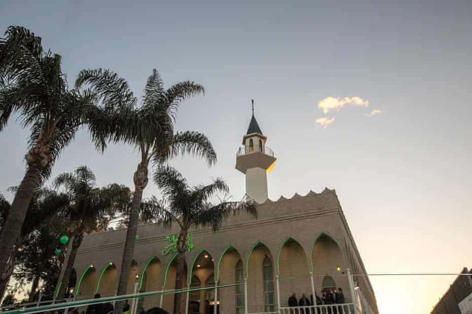 Australia's largest mosque in Lakemba, Sydney.