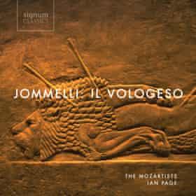 Jommelli: Il Vologeso album cover