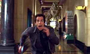 Could be worse: Ben Stiller in 2006 film 'Night at the museum'.