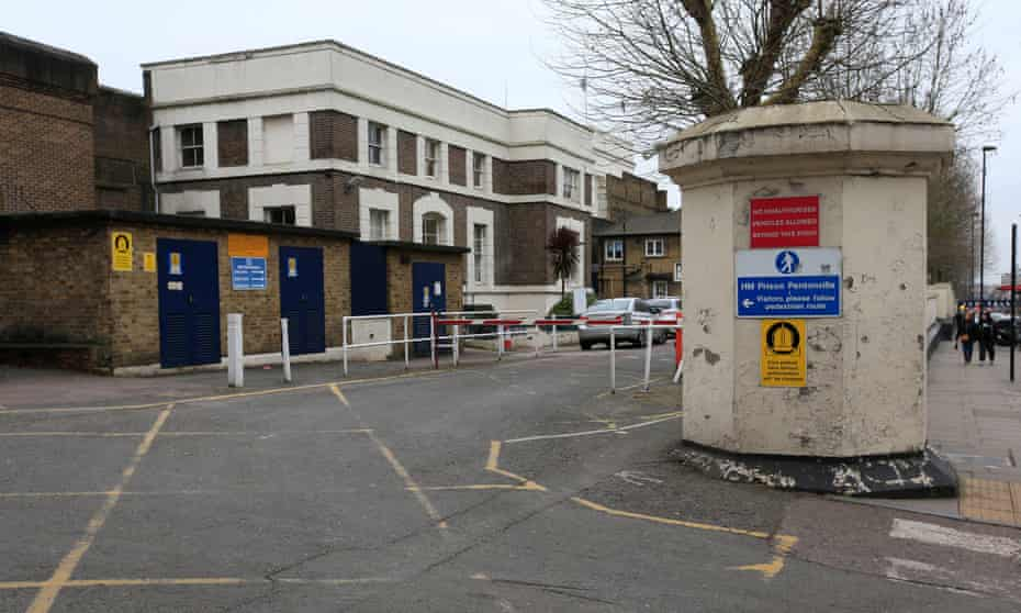 Pentonville Prison, north London.