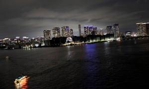 Real Tokyo: Tokyo bay area from Rainbow bridge.