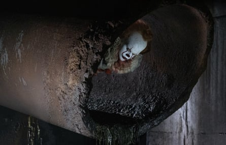 'The red nose is a ticket to anarchy' … an image from It, the clown horror film that led to a plea for calm from Stephen King.