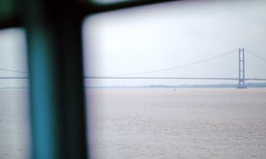 A view of the Humber Bridge.