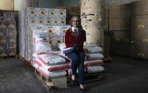 Hebron, West Bank: Iman Abu Areesh, aid coordinator