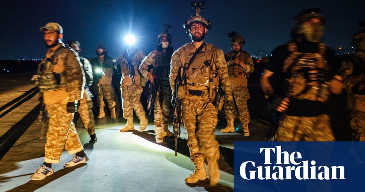 Gunfire fills the air in Kabul as Taliban celebrate airport takeover