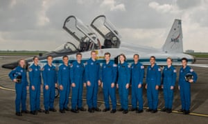 Nasa's new astronaut candidates
