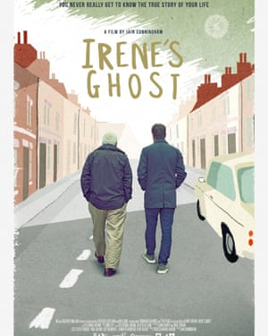 A poster for the movie Irene's Ghost