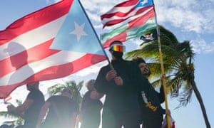 b52a4305a600 Puerto Rico: thousands flood streets in push to oust governor – in ...