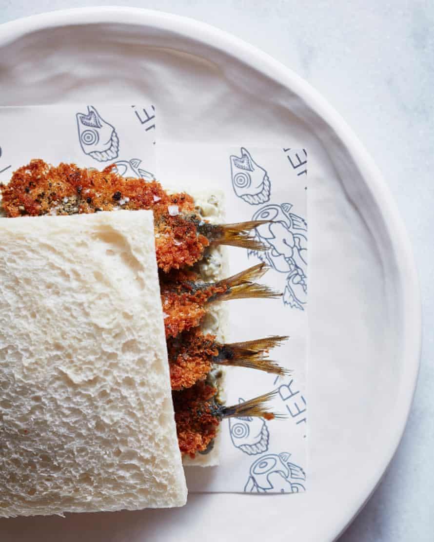 Crumbed Sardine Sandwich Josh Niland The Whole Fish Cookbook