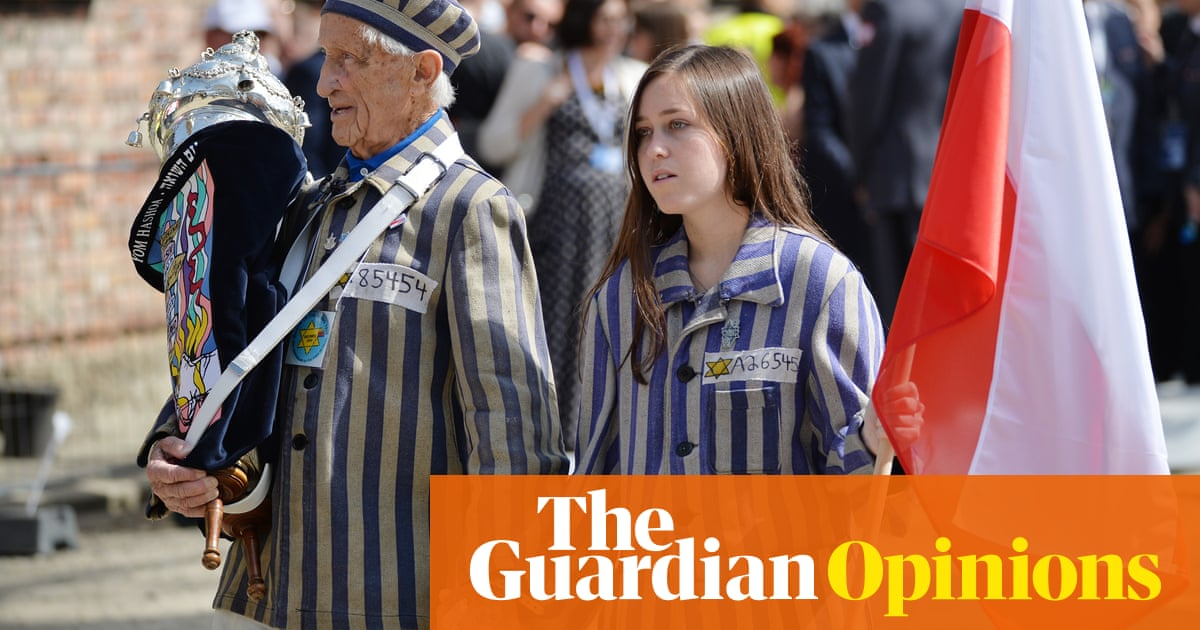 If people don't know about the Holocaust, it's because they don't really care