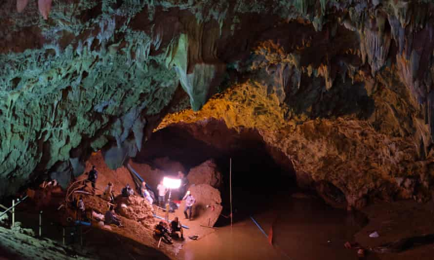Josh Bratchley was involved in the rescue of the Thai football team from Tham Luang cave