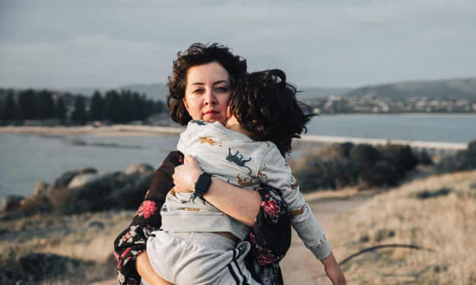 Iranian-born Elaheh waited seven years for a temporary protection visa. Despite being born in Australia, her son Ben is on temporary protection.