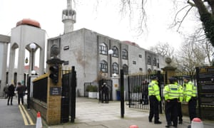 The knife attack took place on Thursday at London Central Mosque in Regent's Park