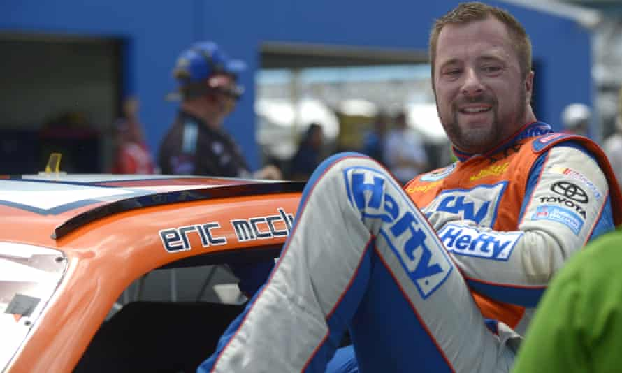 Eric McClure pictured during his racing career in 2013