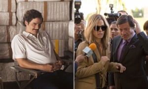 Narcos and Our Brand Is Crisis: ' the stories of Latin American nations are presented first and foremost through the perspectives of white, non-Spanish speaking US citizens'