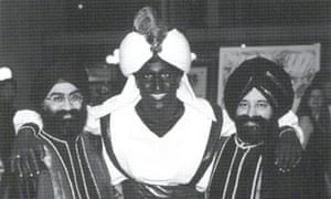 "Justin Trudeau<br>This April 2001 photo, which appeared in a newsletter from the West Point Grey Academy, shows a costumed Justin Trudeau, his face and hands darkened by makeup, attending an ""Arabian Nights"" gala. The academy is a private school in Vancouver, B.C., where Trudeau worked as a teacher before entering politics. (West Point Grey Academy/The Canadian Press via AP)"