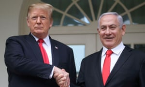 President Trump meets with Israel's Prime Minister Netanyahu at the White House in Washington