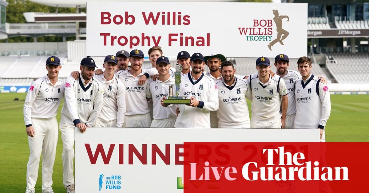 Warwickshire beat Lancashire to win Bob Willis Trophy final – live!