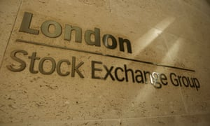 The Stock Exchange in the City of London.