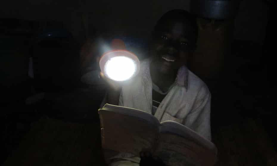At t Martin's school in Nambuma, Malawi, teachers will use the lamps to prepare lessons in the evening and to charge up mobile phones for themselves and others.