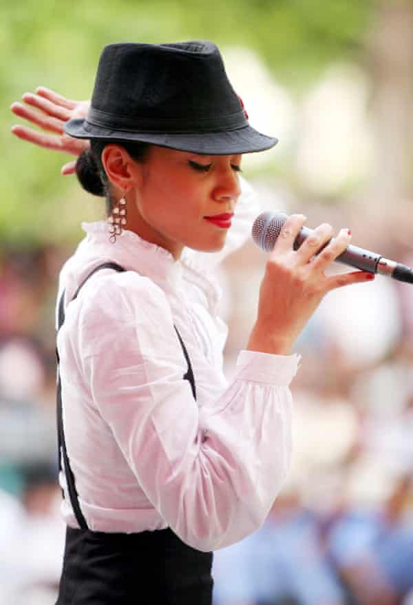 'Bollywood music has a rhythm that's similar to reggae and ska' ... vocalist Samara Chopra. Photograph: Amit Bhargava/Corbis