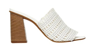 White woven mules, £80, aldoshoes.com