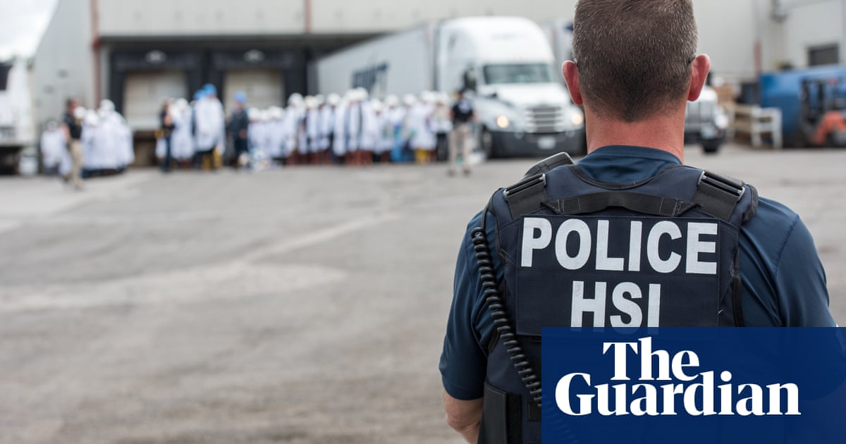 100 armed agents and 143 arrests: the Ice raid that traumatized a small Ohio town | US news | The Guardian