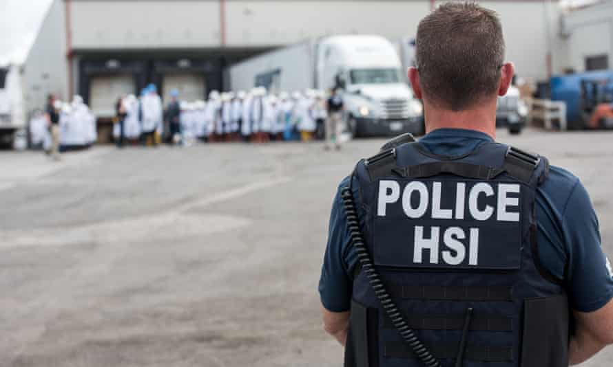 The raid was conducted by Homeland Security Investigations (HSI), a branch of Ice.
