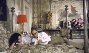 Sophia Loren con su esposo Carlo Ponti en 1964
