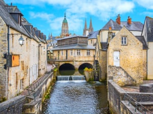 Bayeux was the first French town to be liberated after D-day.